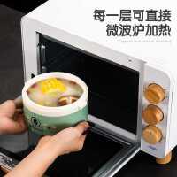可微波炉加热饭盒上班族保温便当盒4多层3双层2学生成人分层餐盒