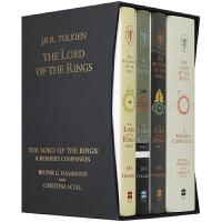 华研原版 指环王英文原版 The Lord of the Rings 指环王60周年套装 精装 魔戒阅读指南 电影原著