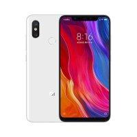 支持礼品卡 Xiaomi/小米8 移动联通电信4G全网通手机 6GB+64GB 白色