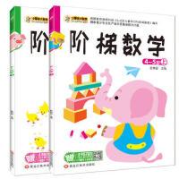 小笨熊阶梯数学4-5岁上下 全2册 幼儿园数学练习教材 益智兴趣培养智力开发 趣味全脑思维升级训练教材 全面提升宝宝的思维逻辑能力 激发幼儿学习兴趣