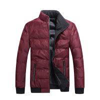 战地吉普AFS JEEP男士立领舒适保暖棉服大码宽松加厚夹克简约运动外套男装上衣