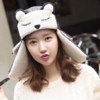 帽子 男士女士 新款 韩版潮秋冬款 冬天 护耳 雷锋帽