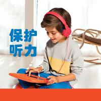 JBL JR300儿童耳机有线头戴式低分贝学生耳机学习卡通耳机