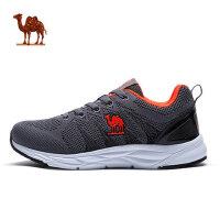2018春季 骆驼运动跑鞋耐磨缓震男跑步鞋 舒适透气跑鞋男