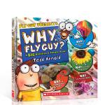 Why, Fly Guy? (Fly Guy Presents) 苍蝇小子科普大开本全彩绘本 科普百科 小学儿童 课后