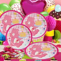 孩派 儿童生日聚会装扮布置用品 生日小熊主题派对用品