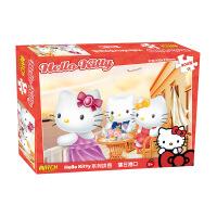 HelloKitty凯蒂猫拼图 盒装300片儿童拼图生日礼品 3种图案可选