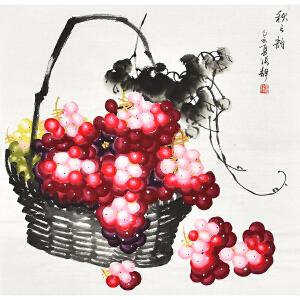 辽宁省美术家协会会员   张静秋之韵gh04561