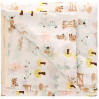 班杰威尔 春夏婴儿浴巾 纯棉超柔加大加厚新生儿宝宝6层纱布浴巾毛巾被