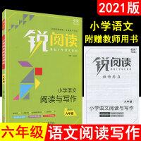 2021版锐阅读小学语文阅读与写作六年级全国通用版阅读写作专项训练辅导书