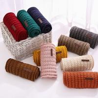 儿童围巾秋冬针织毛线围女童男童宝宝保暖冬季