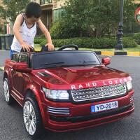 双座儿童电动车4-5-8岁宝宝玩具车可坐人四轮遥控汽车可坐1-3童车