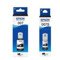 原装爱普生EPSON 007大容量墨水 黑色墨水 007s小容量墨水 Epson M2148打印机墨水 打印机连供墨水