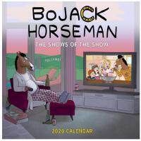 【现货】英文原版 马男波杰克 2020年挂历 片中的电视节目 新年日历 BoJack Horseman 2020 Wal
