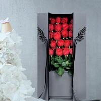 抖音同款炽天使玫瑰花盒 创意情人节花束礼盒鲜花礼盒包装盒