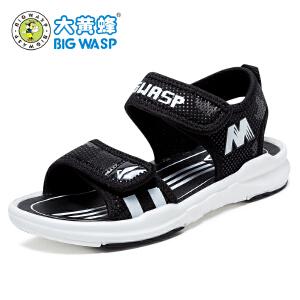大黄蜂男童鞋 夏季儿童凉鞋 男孩运动沙滩鞋学生鞋子中大童韩版潮