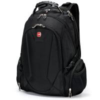 SWISSGEAR瑞士军刀双肩电脑包 男士14-15.6英寸笔记本包 专业多功能商务背包