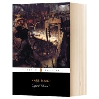 Capital Volume I 资本论 卷一 英文原版 卡尔马克思资本论1 政治经济学 批判经济学 Karl Marx