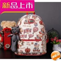 201809232105453新款韩版小熊背包女式双肩包布艺可爱学生大包书包迷你包
