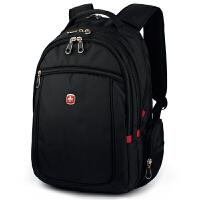 瑞士军刀SWISSGEAR双肩包 男女13.3/14英寸苹果笔记本电脑包 休闲书包背包