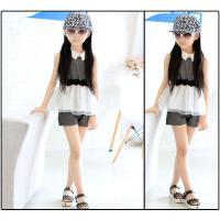 女童套装夏季夏装清凉短袖T恤短裤两件套