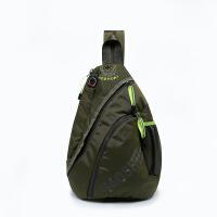 胸包 新款运动旅行背包户外旅游双肩包休闲男士胸包斜挎包布料男包