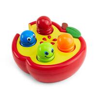 敲击果虫婴幼儿童益智玩具打地鼠游戏机宝宝玩具