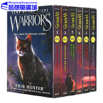 英文原版 Warriors Dawn of the Clans 猫武士五部曲1-6册 族群黎明 8-12岁 儿童少儿章
