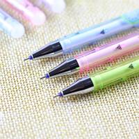 爱好82811摩易擦中性笔 可爱小房子热可擦水笔 0.5mm全针管可擦笔