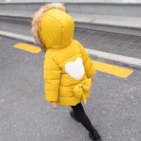 儿童装棉衣外套秋冬女童女宝宝洋气衣服