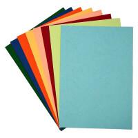 晨光 A4彩色卡纸280g多功能卡纸多彩手工折纸打印纸复印纸封面纸装订文件合同标书封面