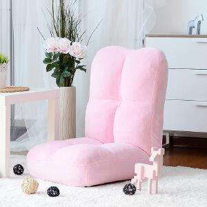 未蓝生活懒人沙发单人日式折叠布艺沙发创意简约多功能懒人椅榻榻米沙发