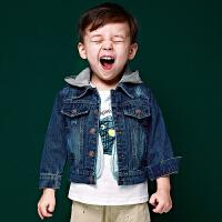 男童牛仔外套秋冬上衣儿童童装宝宝牛仔衣