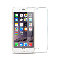 iPhone6plus�化膜�O果6plus高清防爆膜非全屏膜5.5�N膜7 6/6s 4.7寸【非全屏】【高清9H防】