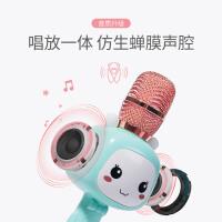 儿童话筒音响一体麦克风无线家用自带扩音卡拉ok宝宝唱歌玩具
