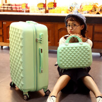 旅行箱包拉杆箱万向轮行李箱子母箱密码硬箱女20 24 28寸 /子母箱
