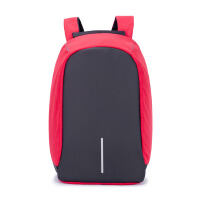 男生书包大学生高中生蒙马特同款安全商务背包 多功能智能电脑包休闲双肩背包 16寸