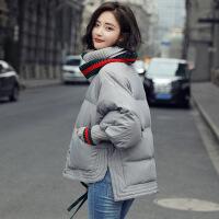 女短款冬季外套2018新款韩版面包服加厚小个子羽绒棉衣棉袄潮