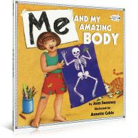 英文原版绘本 Me and My Amazing Body 英语启蒙 吴敏兰推荐书 儿童启蒙阅读故事图画趣味书籍 英语