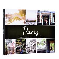 【中商原版】城市摄影:巴黎 英文原版 PhotoCity Paris