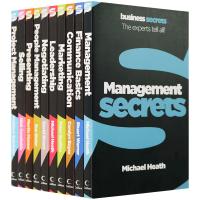 现货正版 管理学英文版 Management Secrets 管理的秘密 英文原版 进口英语商业经济管理书籍10册 人力