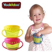宝宝防漏洒零食杯婴儿辅食盒幼儿童防摔食物储存碗餐具儿童餐具