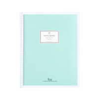 广博(GuangBo) 升级款蓝色GBH16833 40张B5小清新活页记事本子/日记本/课堂笔记本/含分隔页 内芯可
