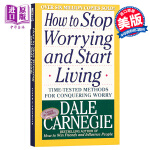 【中商原版】戴尔卡耐基 人性的优点 英文原版 How to Stop Worrying and Start Livin