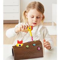 啄木鸟玩具捉虫益智喂小鸟鸡抓吃虫子游戏宝宝钓鱼