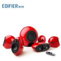 【支持礼品卡】Edifier/漫步者 E255无线低音炮5.1家庭影院音箱时尚电视音响