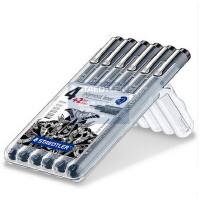德国STAEDTLER施德楼 308 SB6P 绘图针管笔|绘图笔|勾线笔6支套装