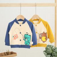 中小童装婴儿童外套夹克男女童春季韩版卡通棒球服