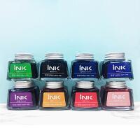 光奇良品墨水INK-108 染料钢笔墨水 30ml黑色墨水 八色可选