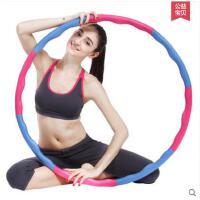 波浪形8节呼啦圈减肚子可拆卸软海棉儿童健身圈减肥呼啦圈瘦腰女成人加重收腹